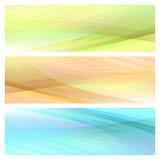 Abstrakt ljus bakgrundsuppsättning Fotografering för Bildbyråer
