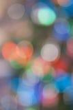 Abstrakt ljus Bokeh bakgrund arkivfoto