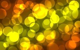 Abstrakt ljus Bokeh bakgrund Royaltyfria Bilder