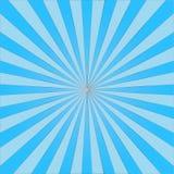 Abstrakt ljus - den blåa solen rays bakgrund vektor vektor illustrationer