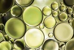 Abstrakt ljus för vattenbubblor Arkivfoto