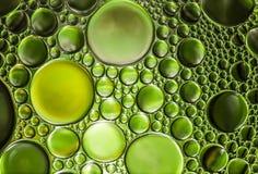 Abstrakt ljus för vattenbubblor Arkivbilder