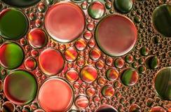 Abstrakt ljus för vattenbubblor Royaltyfri Bild