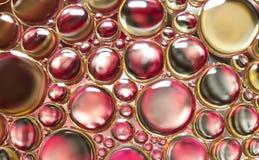 Abstrakt ljus för vattenbubblor Fotografering för Bildbyråer