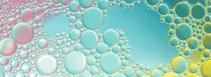 Abstrakt ljus för vattenbubblor Arkivbild