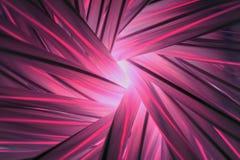 Abstrakt ljus från det mörkt (invertera bilden från röret), Royaltyfri Bild