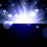 Abstrakt ljus galaxbakgrund Arkivfoton