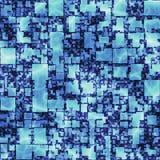 Abstrakt ljus grafikmodellbakgrund mycket av fyrkanter Sömlös textur för inpackning av papperillustrattion Arkivfoton