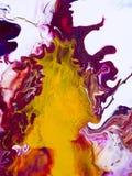 Abstrakt ljus hand målad bakgrund Arkivfoto
