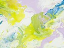 Abstrakt ljus hand målad bakgrund Royaltyfri Foto