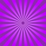 Abstrakt ljus - lilan rays bakgrund vektor stock illustrationer