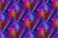 Abstrakt ljus med sömlösa härliga färgrika strålar Royaltyfri Bild