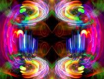 Abstrakt ljus modell Royaltyfri Bild