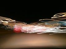 Abstrakt ljus och suddig bakgrund Arkivbilder