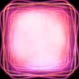 Abstrakt ljus ram Arkivbilder