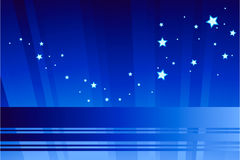 abstrakt ljus stjärna Arkivbilder