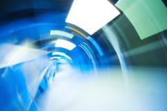 Abstrakt ljus tunnel Royaltyfri Foto