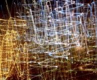 abstrakt ljusa linjer Royaltyfri Foto