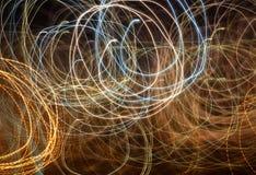 abstrakt ljusa linjer Royaltyfri Bild