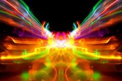 abstrakt ljusa ljusa strimmor Royaltyfri Bild