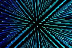abstrakt ljusa punkter Royaltyfria Bilder