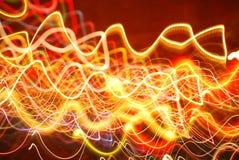 Abstrakt ljusblixttapet Royaltyfria Bilder