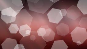 abstrakt ljusröd bakgrundsbokeh Royaltyfri Fotografi