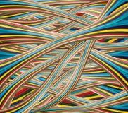 Abstrakt ljust färgrikt papper Arkivfoton