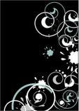 abstrakt lockiga designer Arkivbild