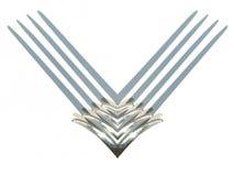 abstrakt logo Arkivfoton