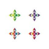 abstrakt logo Royaltyfri Fotografi