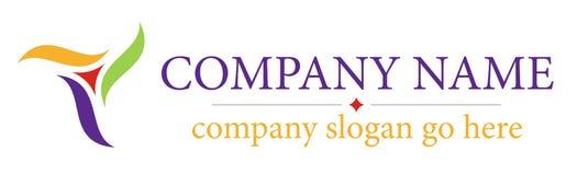 abstrakt logo stock illustrationer