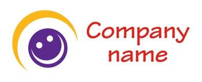 abstrakt logo royaltyfri illustrationer