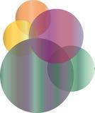 abstrakt logo Arkivfoto