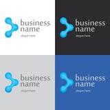 Innovativa teknologier för logo Arkivbilder