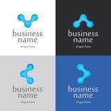 Innovativa teknologier för logo Royaltyfri Fotografi