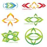 Abstrakt logoer Arkivfoton