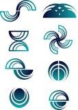 abstrakt logoset Royaltyfri Foto