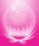 abstrakt lotusblomma royaltyfri illustrationer