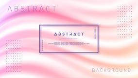 Abstrakt lutningvågbakgrund Dynamiskt bakgrundsfärgflöde Illustration för vektor EPS10 vektor illustrationer