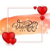 Abstrakt lycklig valentin elegant bakgrund f?r dag royaltyfri illustrationer