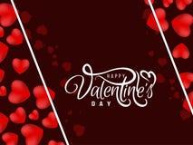 Abstrakt lycklig valentin h?rlig bakgrund f?r dag stock illustrationer