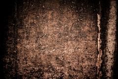 Abstrakt lyxbruntbakgrund Abstrakt grungesvartvignett Royaltyfria Foton