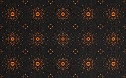 Abstrakt lyxig mörk guld- modellbakgrund stock illustrationer