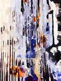 Abstrakt målad bakgrund 1 för DW Arkivfoton