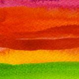 Abstrakt målad bakgrund för remsa vattenfärg Fotografering för Bildbyråer