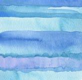Abstrakt målad bakgrund för vattenfärg remsa arkivbild
