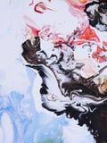abstrakt målad bakgrundshand Royaltyfri Bild