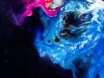 abstrakt målad bakgrundshand Royaltyfria Foton
