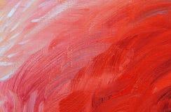 abstrakt målad bakgrundskanfashand Arkivbild